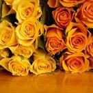 Geel-oranje-rozen