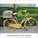 Gele-fiets
