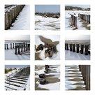 Strand-met-sneeuw