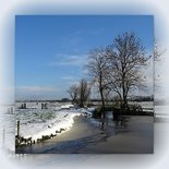 Sneeuwlandschap, blanco
