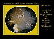 'Ere zij God' (Ansichtkaart)