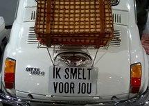 'Ik smelt voor jou' (Ansichtkaart)