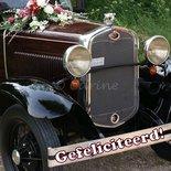 Huwelijk, auto (ENKEL)