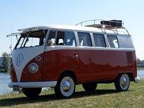 VW-bus (Ansichtkaart)