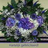 Hortensiaboeket