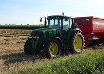 Tractor, John Deere (Ansichtkaart)