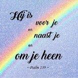 Psalm 139, Hij omringt je