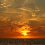 Ondergaande zon (ENKEL)
