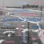 Groeten uit Zeeland, woordwolk