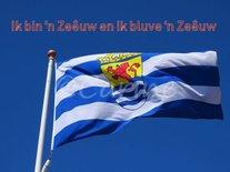 Zeeuwse vlag (Ansichtkaart)