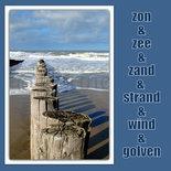Zon en zand en zee