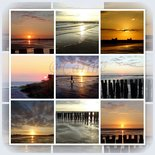 Collage zonsondergang