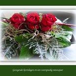 Kerst in groen-wit