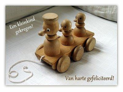 Kleinkind, speelgoed (Ansichtkaart)