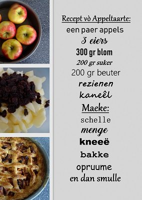 Zeeuws recept (Ansichtkaart)
