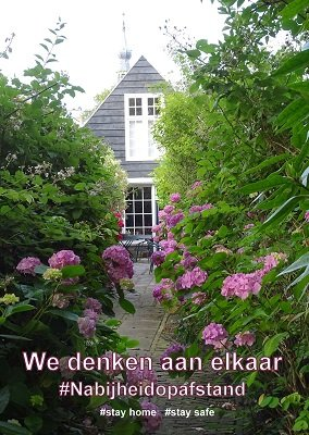 Stay home (Ansichtkaart)