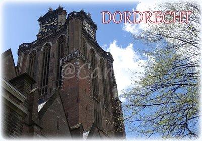 Dordrecht, Grote Kerk (Ansichtkaart)