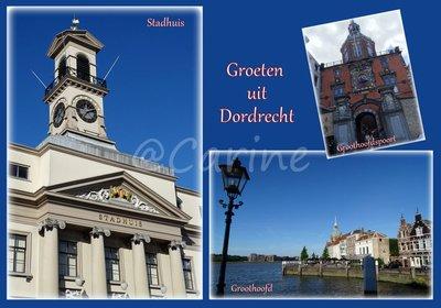 Dordrecht, Groothoofd (Ansichtkaart)