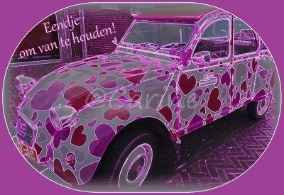 Hartjes-eend (Ansichtkaart)
