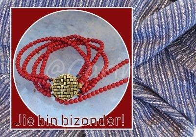 'Jie bin bizonder' (Ansichtkaart)