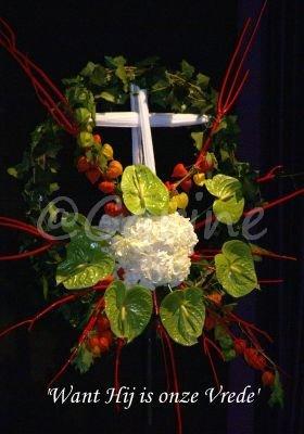 Symboliek kruis (Ansichtkaart)
