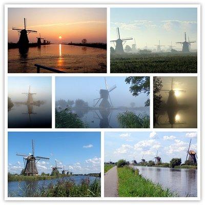 Kinderdijk, collage