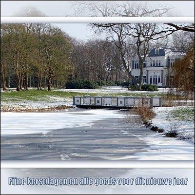Duinvliet in winter