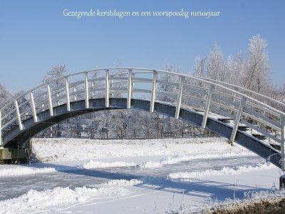 Witte brug (Ansichtkaart)