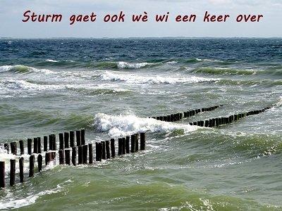 'Sturm' (Ansichtkaart)