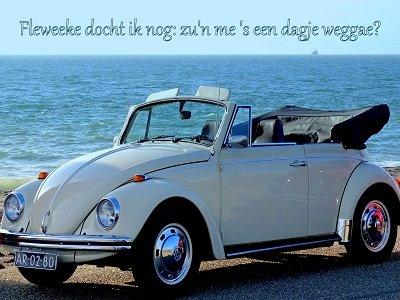 'Dagje weg' (Ansichtkaart)