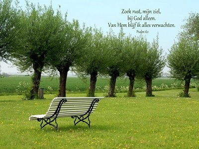 Psalm 62 (Ansichtkaart)