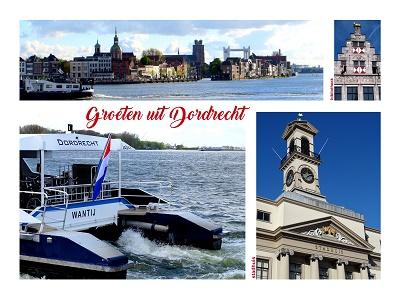 Dordrecht, Merwede (Ansichtkaart)