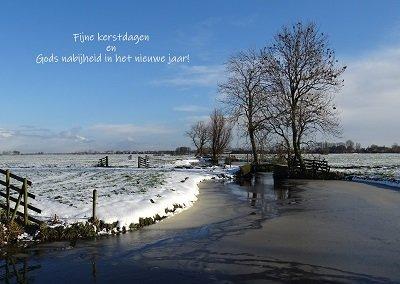 Heldere vrieskou (Ansichtkaart)