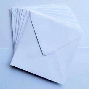 Vierkante enveloppen, 10 st.