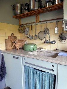 Keuken, jaren-50 (Ansichtkaart, standaard)